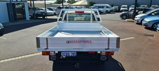 2012 Great Wall V240 K2 MY12 4x2 White 5 Speed Manual Cab Chassis