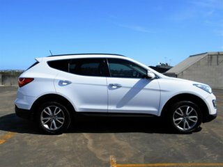 2012 Hyundai Santa Fe DM MY13 Elite White 6 Speed Sports Automatic Wagon.