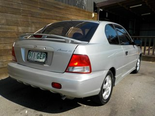 2001 Hyundai Accent LC GS Silver 4 Speed Automatic Hatchback