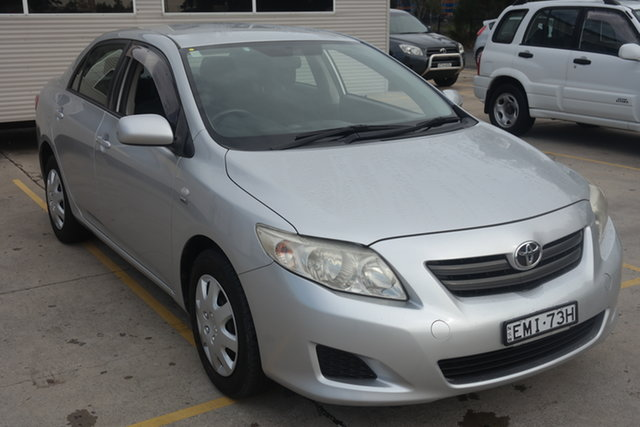 Used Toyota Corolla ZRE152R Ascent Maryville, 2007 Toyota Corolla ZRE152R Ascent Silver 4 Speed Automatic Sedan