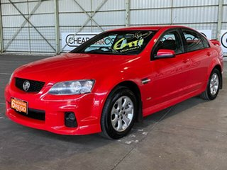 2011 Holden Commodore VE II MY12 SV6 Red 6 Speed Sports Automatic Sedan.