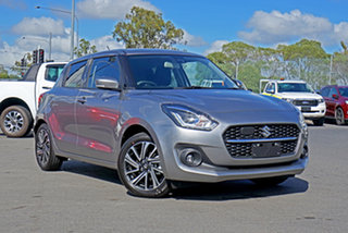 2020 Suzuki Swift AZ Series II GLX Turbo Premium Silver 6 Speed Sports Automatic Hatchback.