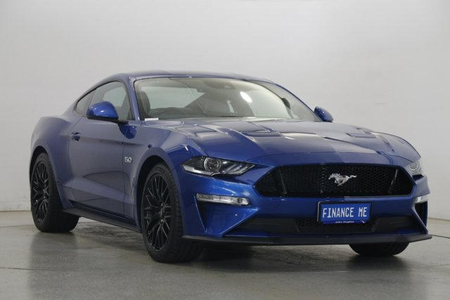 Used Ford Mustang FN 2018MY GT Fastback SelectShift Victoria Park, 2018 Ford Mustang FN 2018MY GT Fastback SelectShift Blue 10 Speed Sports Automatic Fastback