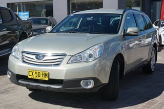 2011 Subaru Outback B5A MY11 2.5i Lineartronic AWD Gold 6 Speed Constant Variable Wagon