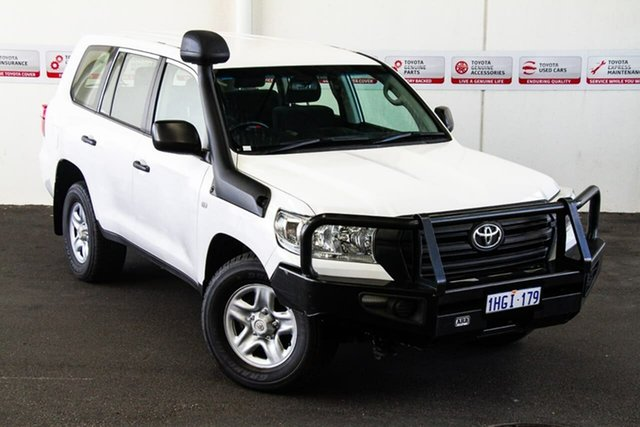 Pre-Owned Toyota Landcruiser VDJ200R MY16 GX (4x4) Rockingham, 2016 Toyota Landcruiser VDJ200R MY16 GX (4x4) Glacier White 6 Speed Automatic Wagon
