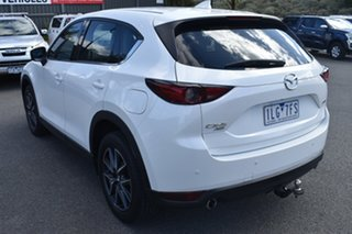 2017 Mazda CX-5 KF4W2A GT SKYACTIV-Drive i-ACTIV AWD White 6 Speed Sports Automatic Wagon