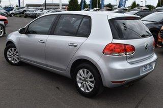 2012 Volkswagen Golf VI MY12.5 90TSI Trendline Silver, Chrome 6 Speed Manual Hatchback.
