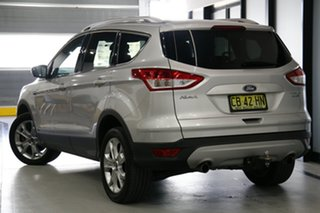 2014 Ford Kuga TF Trend (AWD) Silver 6 Speed Automatic Wagon.
