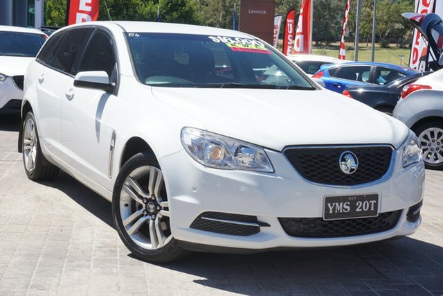 Used Holden Commodore VF MY14 Evoke Sportwagon Phillip, 2014 Holden Commodore VF MY14 Evoke Sportwagon White 6 Speed Sports Automatic Wagon
