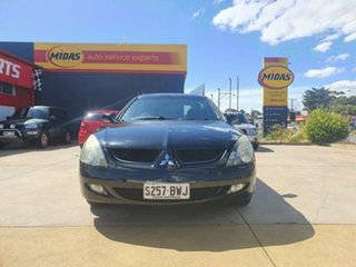 2005 Mitsubishi Magna TW VR Black 5 Speed Sports Automatic Wagon.