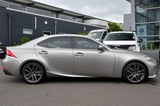 2013 Lexus IS GSE31R IS350 F Sport Silver 8 Speed Sports Automatic Sedan.