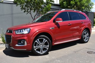2016 Holden Captiva CG MY16 LTZ AWD Maroon 6 Speed Sports Automatic Wagon.