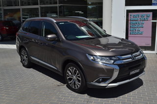 2016 Mitsubishi Outlander ZK MY16 XLS 4WD Bronze 6 Speed Constant Variable Wagon