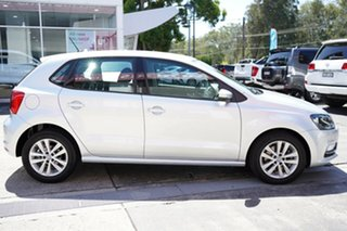2016 Volkswagen Polo 6R MY16 81 TSI Comfortline Silver 7 Speed Auto Direct Shift Hatchback