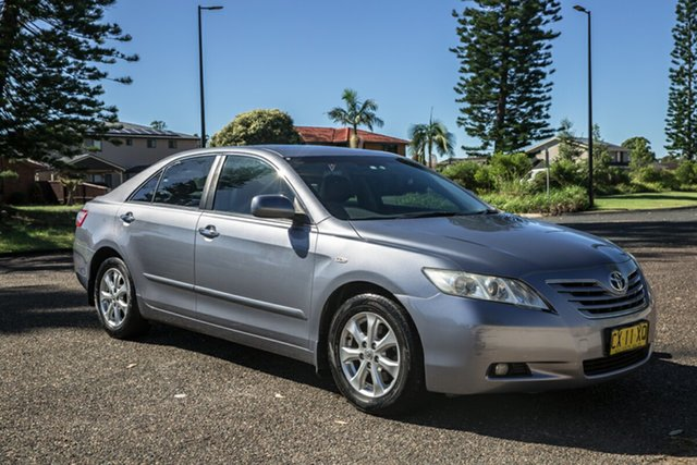 Used Toyota Camry ACV40R Grande Port Macquarie, 2008 Toyota Camry ACV40R Grande Silver 5 Speed Automatic Sedan