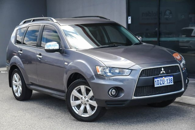 Used Mitsubishi Outlander ZH MY10 LS Osborne Park, 2010 Mitsubishi Outlander ZH MY10 LS Grey 6 Speed Constant Variable Wagon