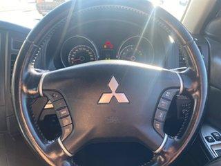 2007 Mitsubishi Pajero NS X White Solid 5 Speed Sports Automatic Hardtop