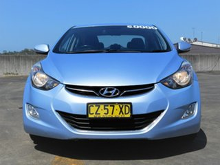 2013 Hyundai Elantra MD2 Elite Blue 6 Speed Sports Automatic Sedan