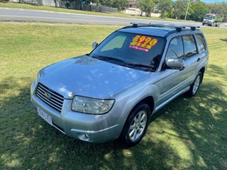 2005 Subaru Forester 79V MY05 XS AWD Luxury Silver 4 Speed Automatic Wagon.