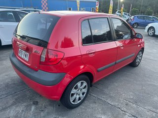 2006 Hyundai Getz TB MY06 Red 4 Speed Automatic Hatchback