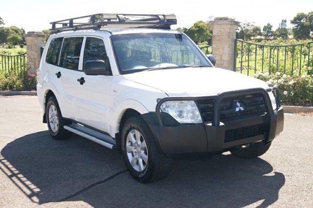 Used Mitsubishi Pajero NT MY11 GLX LWB (4x4) Blair Athol, 2010 Mitsubishi Pajero NT MY11 GLX LWB (4x4) White 5 Speed Auto Sports Mode Wagon