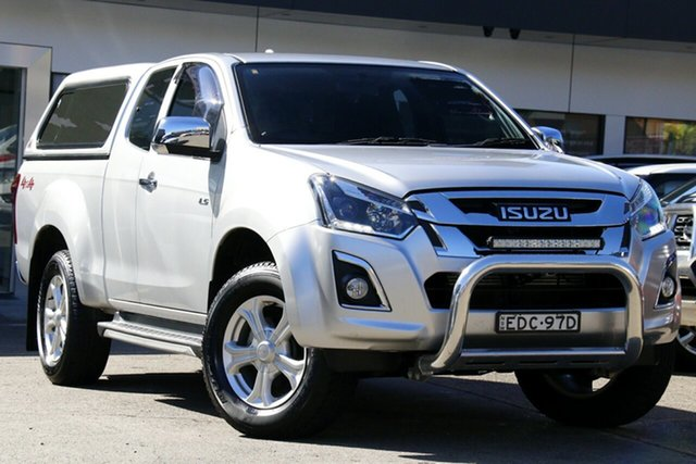 Used Isuzu D-MAX MY19 LS-U Space Cab Homebush, 2019 Isuzu D-MAX MY19 LS-U Space Cab Silver 6 Speed Sports Automatic Utility