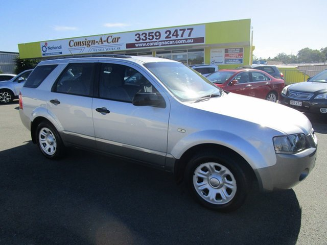 Used Ford Territory SY TX Kedron, 2007 Ford Territory SY TX Silver 4 Speed Sports Automatic Wagon