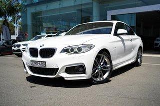 2016 BMW 230i F22 MY17 M Sport Alpine White 8 Speed Automatic Coupe.