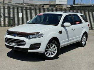 2014 Ford Territory SZ MkII TX Seq Sport Shift White 6 Speed Sports Automatic Wagon.