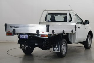 2018 Mitsubishi Triton MQ MY18 GLX 4x2 White 5 Speed Sports Automatic Cab Chassis