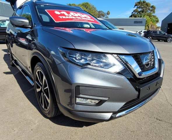 Used Nissan X-Trail T32 Series II Ti X-tronic 4WD Morphett Vale, 2017 Nissan X-Trail T32 Series II Ti X-tronic 4WD Grey 7 Speed Constant Variable Wagon