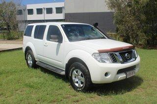 2012 Nissan Pathfinder R51 MY10 ST White 5 Speed Sports Automatic Wagon