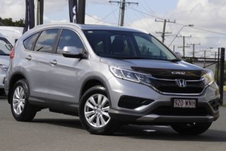 2016 Honda CR-V RM Series II MY17 VTi 4WD Lunar Silver 5 Speed Sports Automatic Wagon.