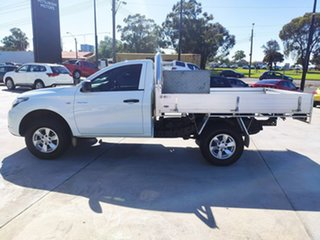 2016 Mitsubishi Triton MQ MY16 GLX 4x2 White 5 Speed Manual Cab Chassis