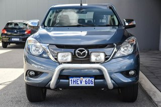 2017 Mazda BT-50 UR0YG1 XTR Freestyle Blue 6 Speed Sports Automatic Utility