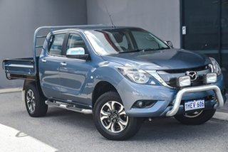 2017 Mazda BT-50 UR0YG1 XTR Freestyle Blue 6 Speed Sports Automatic Utility.