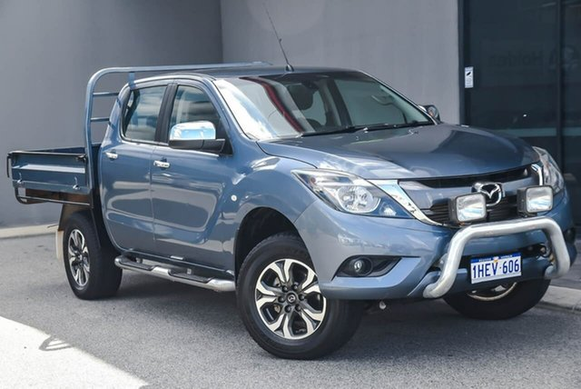 Used Mazda BT-50 UR0YG1 XTR Osborne Park, 2016 Mazda BT-50 UR0YG1 XTR Blue 6 Speed Sports Automatic Utility