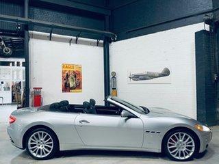 2010 Maserati GranCabrio M145 Silver 6 Speed Sports Automatic Cabriolet.