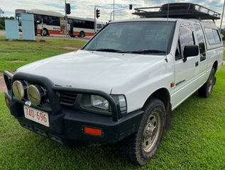1992 Holden Rodeo TF LS Space Cab White 5 Speed Manual Utility