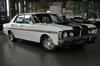 1971 Ford Falcon XY GT White 4 Speed Manual Sedan.