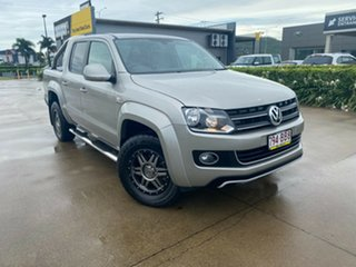 2013 Volkswagen Amarok 2H MY13 TDI420 4Motion Perm Highline Beige/270913 8 Speed Automatic Utility.