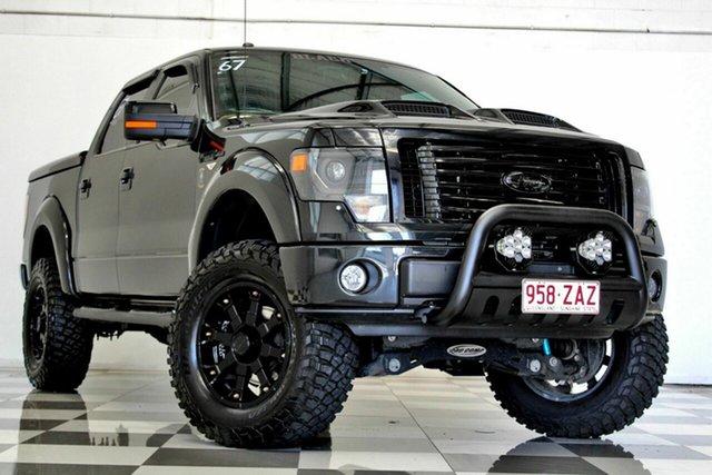 Used Ford F150 SVT Raptor Burleigh Heads, 2014 Ford F150 SVT Raptor Black 6 Speed Automatic Crew Cab Utility