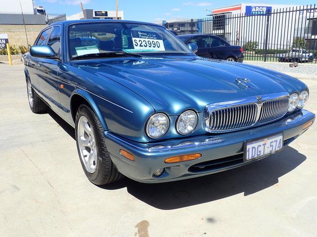 Used Jaguar XJ8 3.2 Heritage Wangara, 2002 Jaguar XJ8 3.2 Heritage Aqua Blue Metallic 5 Speed Automatic Saloon