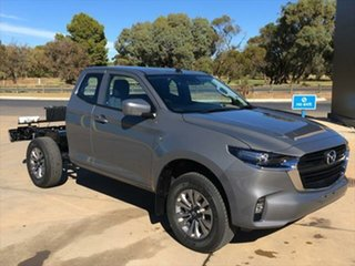 2020 Mazda BT-50 TFS40J XT Freestyle Concrete Grey 6 Speed Sports Automatic Cab Chassis.