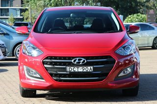2015 Hyundai i30 GD4 Series 2 Active X Red 6 Speed Automatic Hatchback