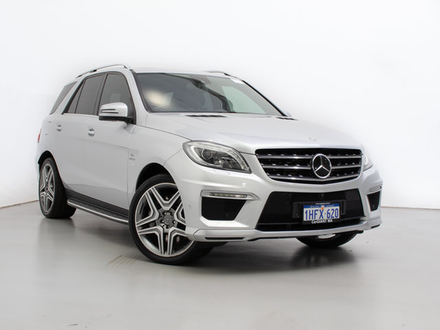 Used Mercedes-Benz ML63 AMG 166 MY14 4x4, 2014 Mercedes-Benz ML63 AMG 166 MY14 4x4 Silver 7 Speed Automatic Wagon