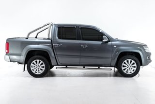 2016 Volkswagen Amarok 2H MY16 TDI420 4Motion Perm Highline Grey 8 Speed Automatic Utility