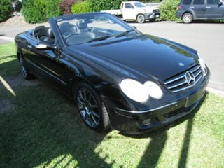 2007 Mercedes-Benz CLK350 C209 07 Upgrade Avantgarde Black 7 Speed Automatic G-Tronic Cabriolet