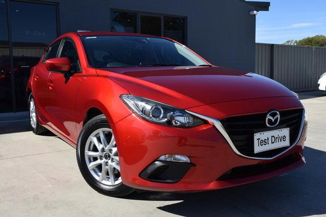 Used Mazda 3 BM5478 Maxx SKYACTIV-Drive Echuca, 2014 Mazda 3 BM5478 Maxx SKYACTIV-Drive Red 6 Speed Sports Automatic Hatchback