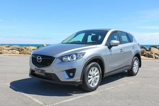 2013 Mazda CX-5 KE1021 MY14 Maxx SKYACTIV-Drive AWD Sport Silver 6 Speed Sports Automatic Wagon